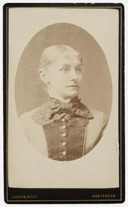 Portret van Christine van Valkenburg