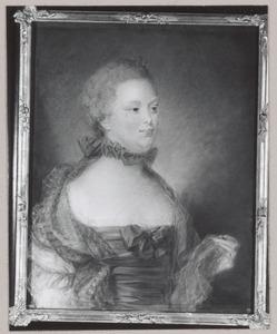Portret van Carolina van Oranje-Nassau (1743-1787)