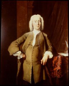 Portret van Philips Zweerts (1704-1774)