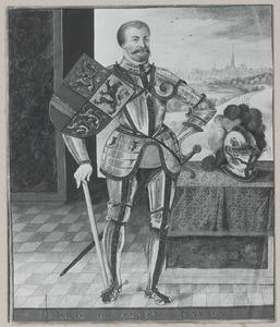 Portret van Hendrik III graaf van Nassau (1483-1538)