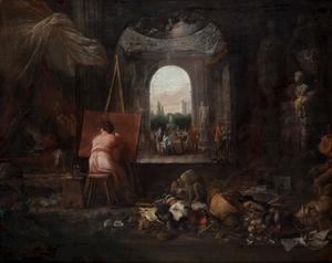 De kunstenaarsstudio