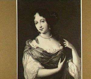 Portret van Françoise Fagel (1658-1733)