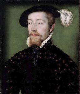 Portret van Jacobus V, koning van Schotland