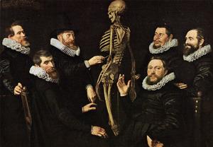 Anatomische les van Dr. Sebastiaen Egbertsz. de Vrij (1563-1621)