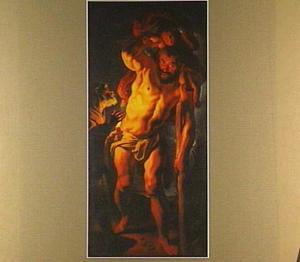 De H. Christophorus het Christuskind dragend