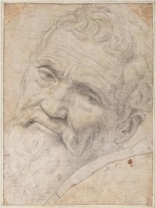 Portret van Michelangelo Buonarroti (1475-1564)