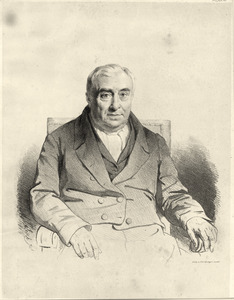 Portret van Christiaan Willem Marinus Klijn (1788-1860)