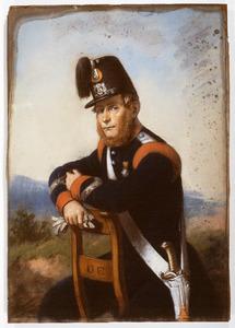 Portret van Jan Hofstede (1820- )