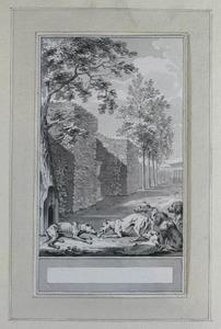 Illustratie bij 'De hond' uit de Fabelen en vertelsels van F.C. Gellert