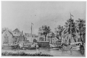 De  havendam te Oud-Beijerland