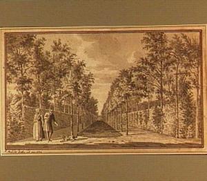 De tuin van het Huis Elsenoort bij Veere (?)