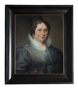 Portret van Theodora Maria de Koning (1800-1878)