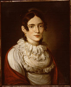 Portret van Carolina Johanna de Dieu (1776-1855)