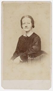 Portret van Wilhelmina Wijnaendts (1837-1876)