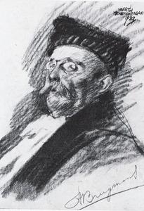 Portret van Hajo Brugmans (1868-1939)