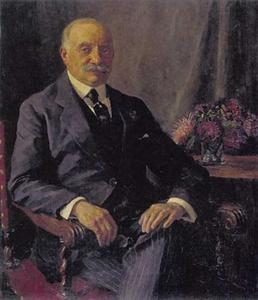 Portret van Sally Berg (1857-1924),  oprichter en mede-eigenaar van Hirsch & Cie