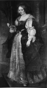 Portret van Helena Fourment (1614-1673) als de Heilige Barbara
