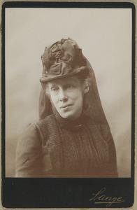 Portret van Marie van Oranje-Nassau (1841-1910)