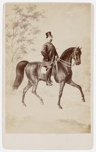 Portret van Heinrich Diderich Christiaan Baars (1824-1905)