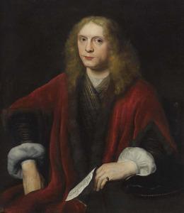 Portret van een man, waarschijnlijk Johannes van Zell (1619/1620- )