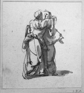 Twee staande vrouwen