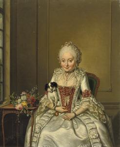 Portret van Hester Cornelia de Witt (1749-1797)