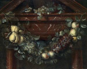 Guirlande met fruit