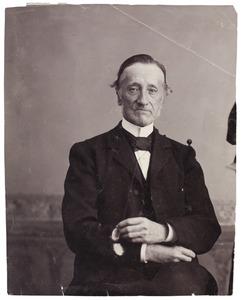 Portret van Jacob Anne Matthias van Oordt (1824-1904)