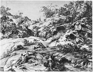 Rotsachtige heuvellandschap