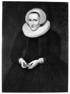 Portret van Godedrieda (Oem) van Wijngaarden (1572-1655)