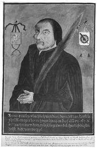 Portret van Dirck van Heemskerck van Beest ( -1545)