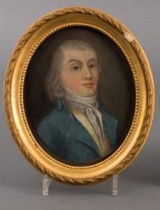 Portret van Gijsbertus Matthias Elsmerus de Virieu (1773-1830)