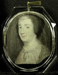 Portret van Amalia van Solms -Braunfels (1602-1675)