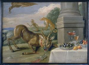 De fabel van het zieke hert (Aesopus)