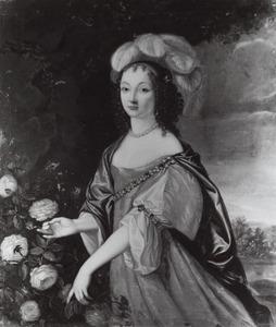 Portret van Anna Trajectina van Brederode (1625-1672)