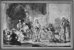 Christus toont zijn wonden aan de ongelovige Thomas (Johannes 20:24-29)