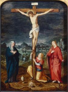 Kruisdood van Christus met Maria Magdalena