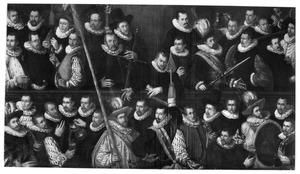 Officieren en schutters van de St.Jorisdoelen, Haarlem