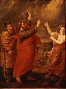 De lofzang van Mozes en de dans van Mirjam met de vrouwen (Exodus 15: 1-21)