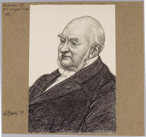 Portret van Nicolaas Beets (1814-1903)