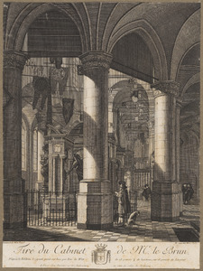 Nieuwe Kerk te Delft met praalgraf Willem van Oranje