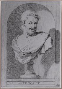 Borstbeeld van Democritus