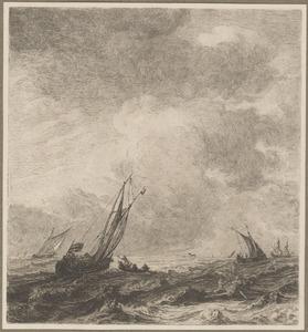 Schepen op zee