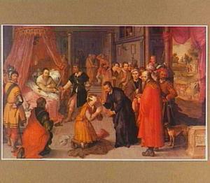 De justitie van Graaf Willem III: de onrechtvaardige baljuw wordt onthoofd in de slaapkamer van de graaf