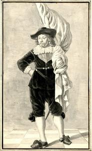 Portret van Jan Witsen (1603-1650)