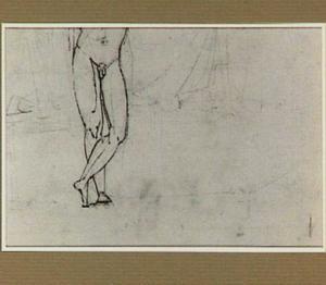 Staand mannelijk naakt, zonder hoofd en schouders