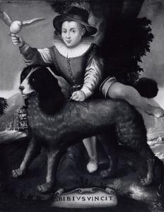 Portret van Frederick de Vries