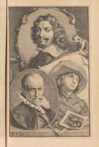 Portret van Adriaen Brouwer (1605/06-1638), tronie van een oude man en portret van Cornelis Bega (1631/32-1664)
