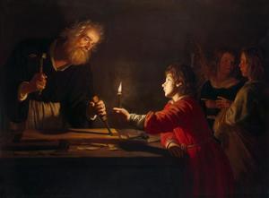 De timmermanswerkplaats van Jozef