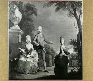 Portret van de familie Hop